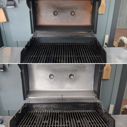 Cleaned Grill