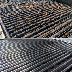 Clean Outdoor Grill