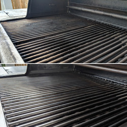 BBQ Steam Cleaning
