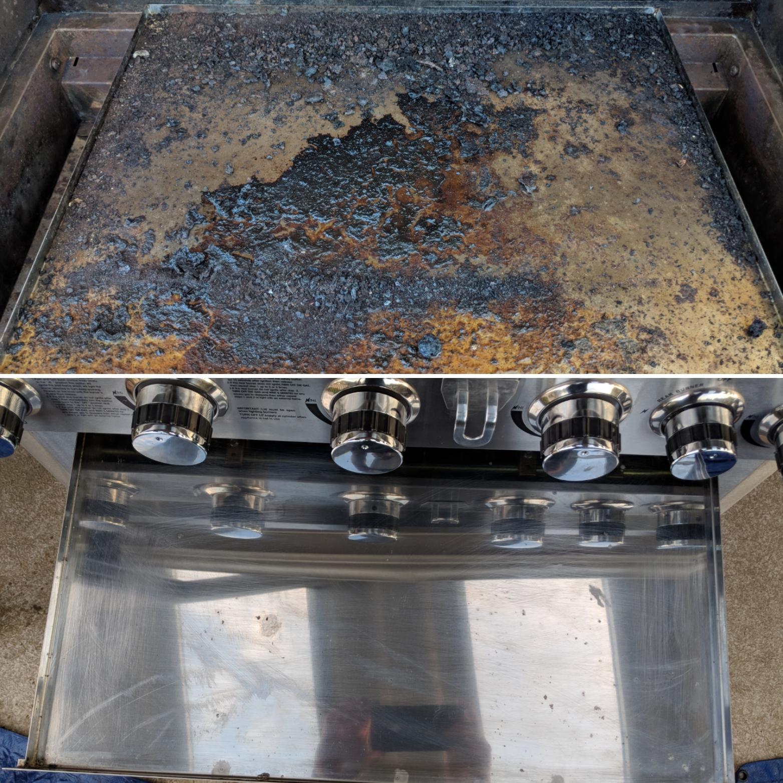 Outdoor BBQ Steam
