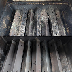 BBQ Outdoor Grill Before And After