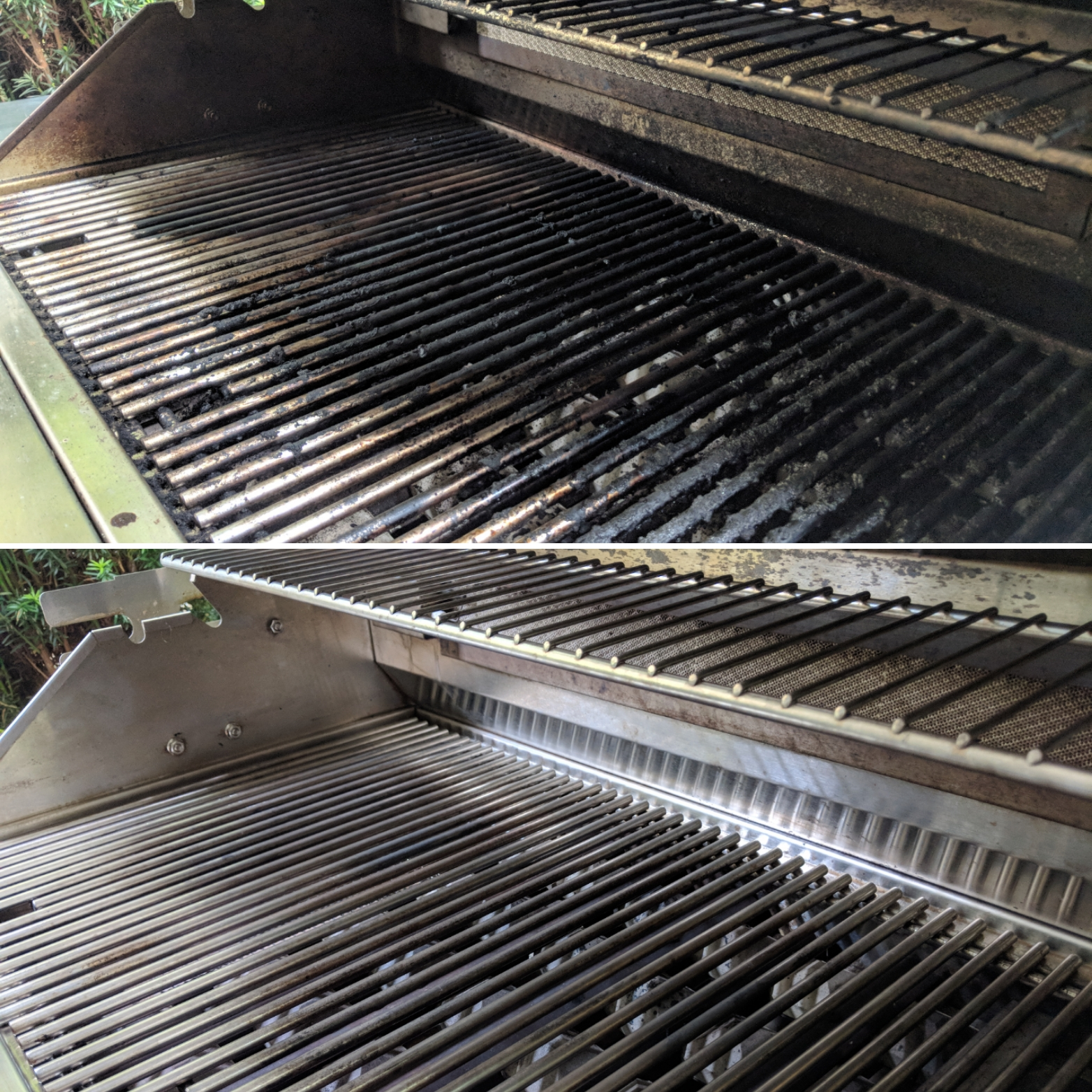 Before and After Cleaning Service