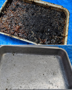 Clean Outdoor Grill Before And After