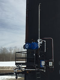 Kenilworth Combustion Methane Recovery System