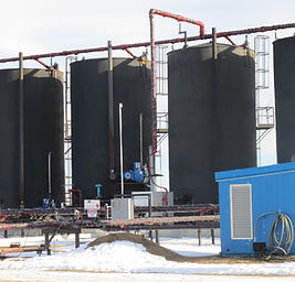 Oil Storage Tank Vapor Recovey Unit