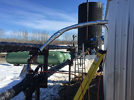 Kenilworth Combustion Methane Recovery Piping