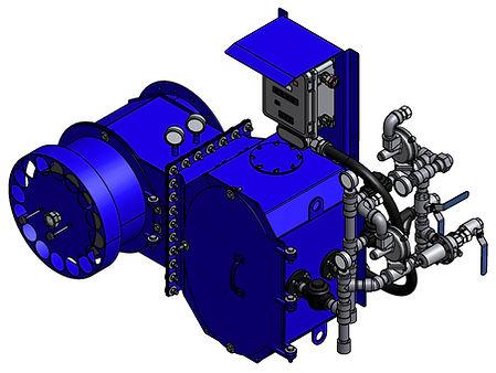 BTEX Burner System