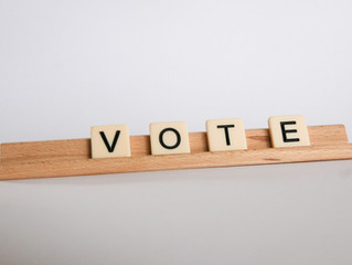 Vote - Monday Musing, November 2, 2020