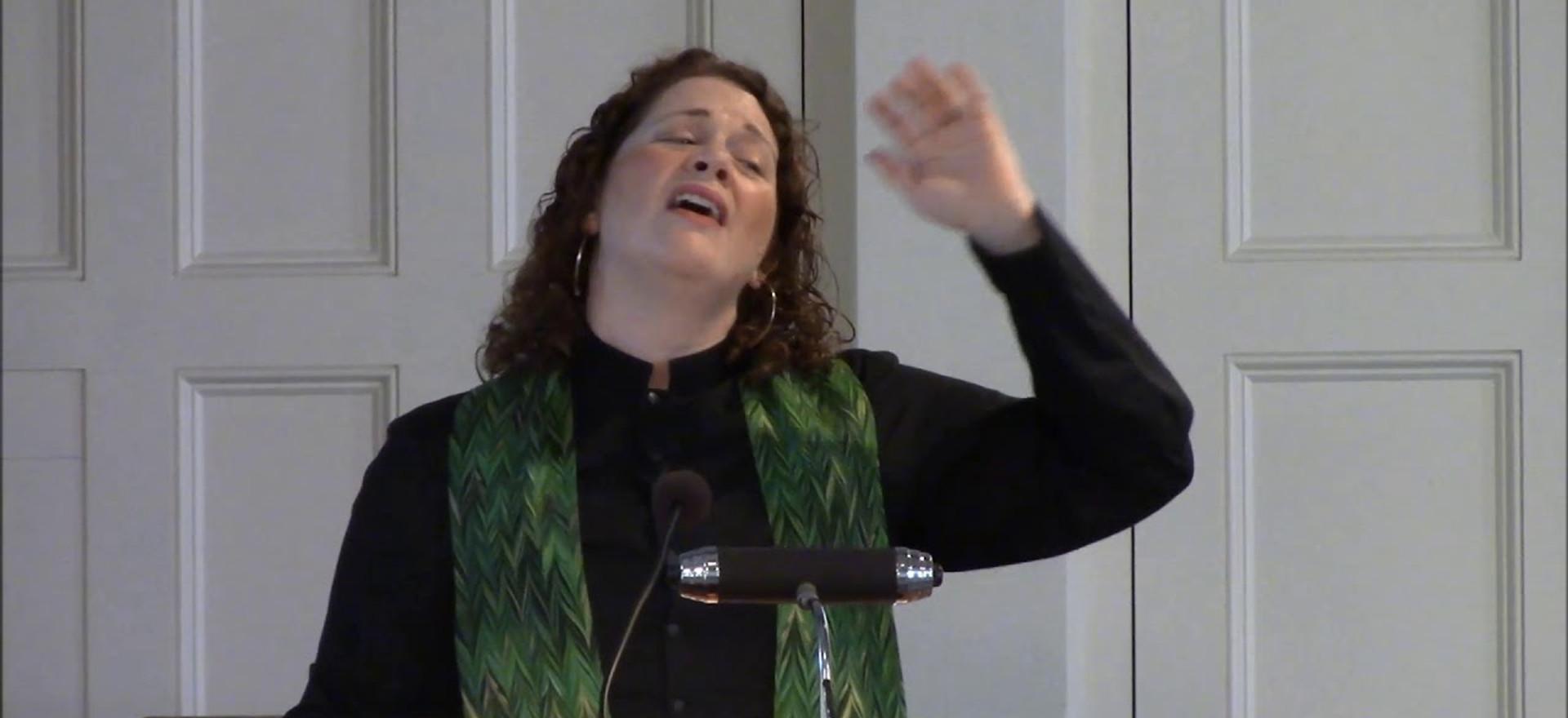 Sermon - Rev. Laura Everett - June 3, 2018