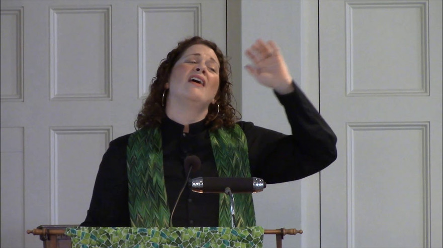 Sermon - Rev. Laura Everett - June 3, 2018