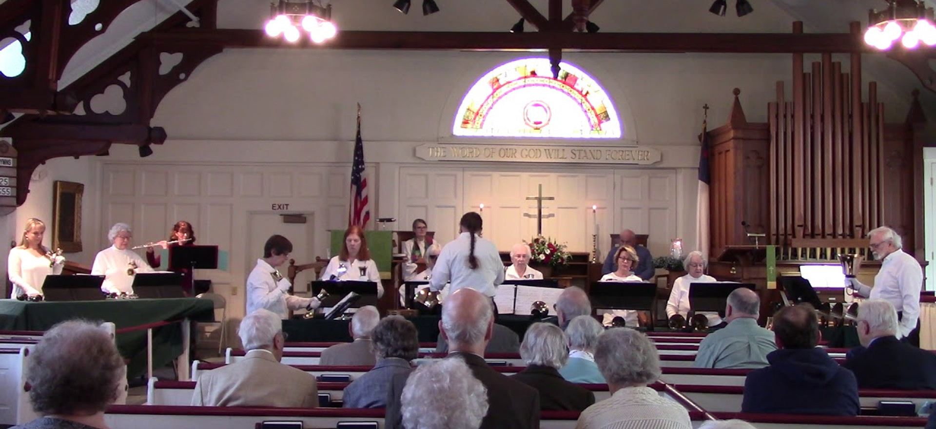 FCO Musical Message: Psalm 24 reading by The Nauset Ringers and Pastor Sally Norris 2-11-18