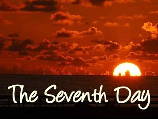 The Seventh Day - my Sabbatical