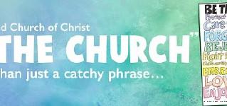 Be the Church - upcoming worship