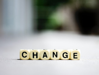 Change - Monday Musing, September 13, 2021