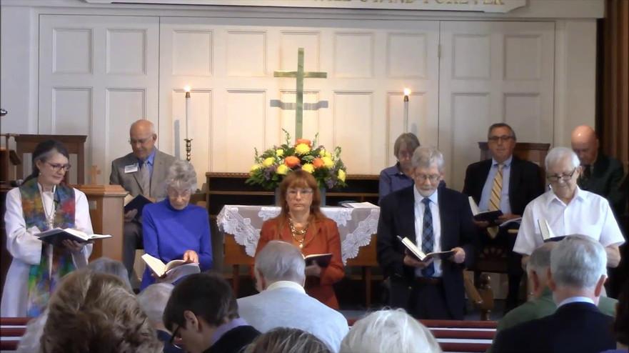 Rev. Norris' last service