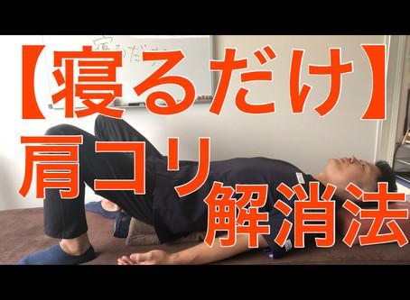 【寝るだけ】肩コリ解消