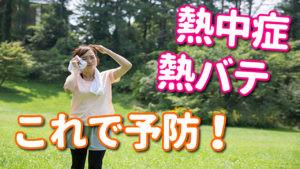 【ルイボスティー】熱中症、夏バテ これで予防!!