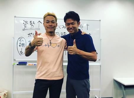 Shoji先生に逢いに行きました