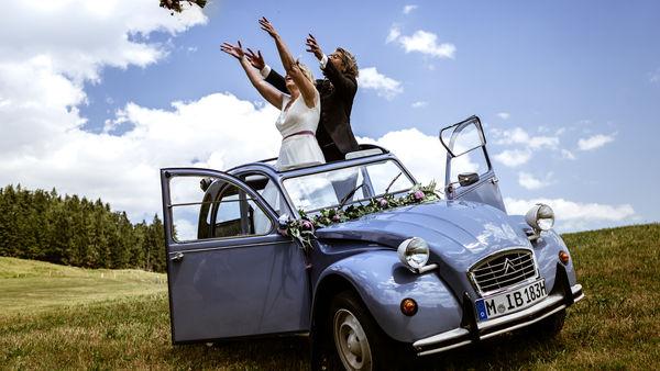 Dynamische Hochzeitsfotografie
