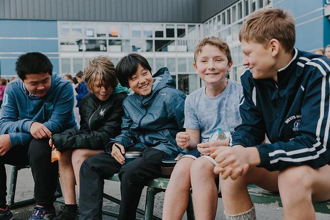 WellingtonNZ_Students at school_Kelburn