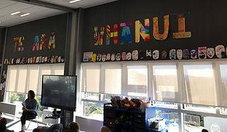 Whanui Wall Art for Whanui letters