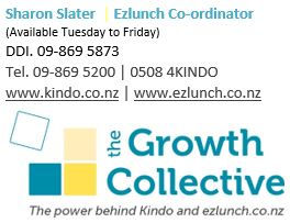 Growth Collective ezlunch logo and details