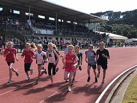 Children running at Athletics Day