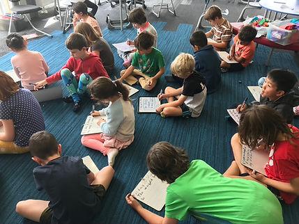 Whanake children learning