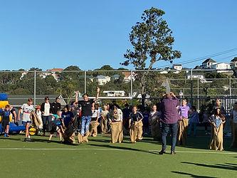 School Picnic Children doing races