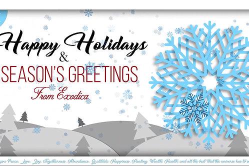 Digital Holiday Greeting Card