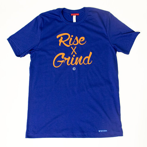 Rise & Grind - Lapis blue & Orange