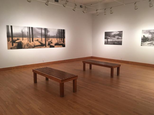 DARK ROADS solo exhibition