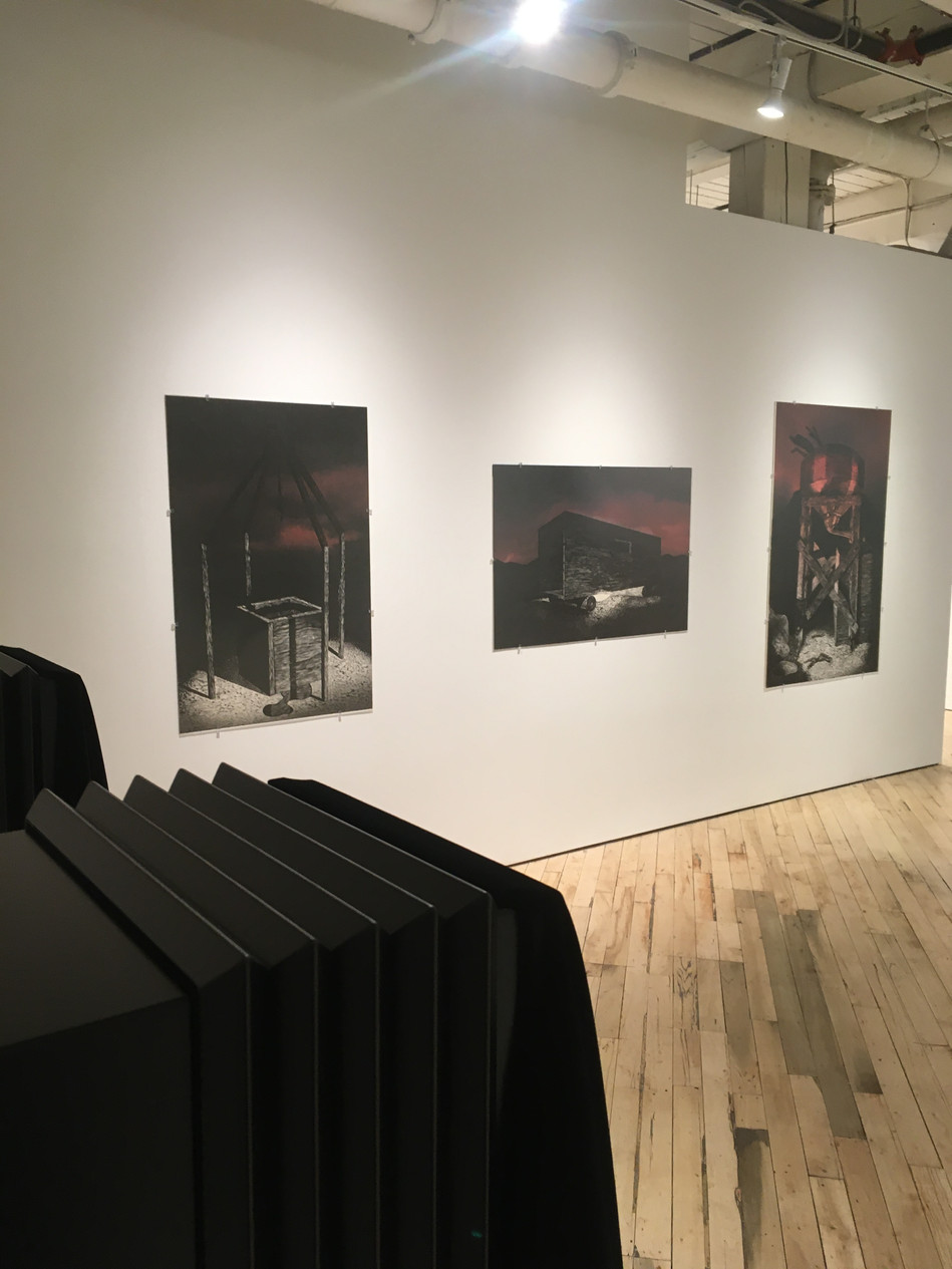 AFTERDARK Solo Exhibition