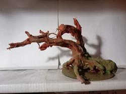Mini árvore sem folhas