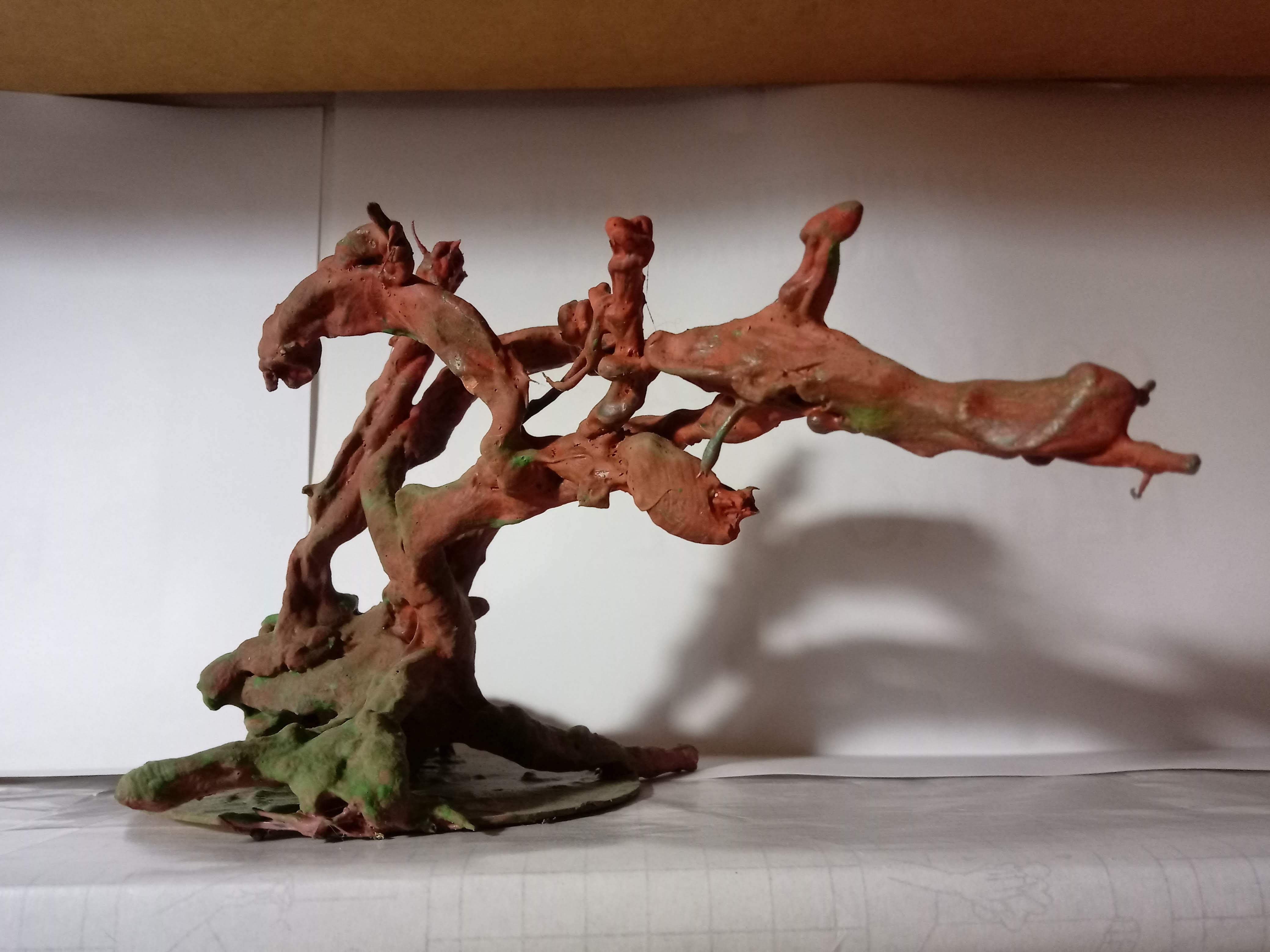 Mini árvore seca, sem folhas