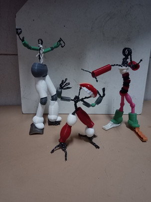 Boneco Articulado para impressão em 3D - Basic 3D print model for a Ball Jointed Doll