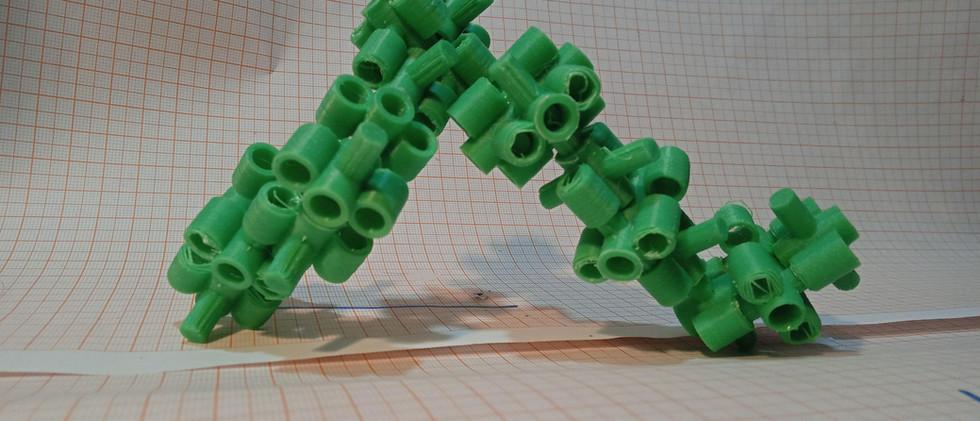 Estrutura ModoriTuk, sistema de módulos construtivos interconectáveis