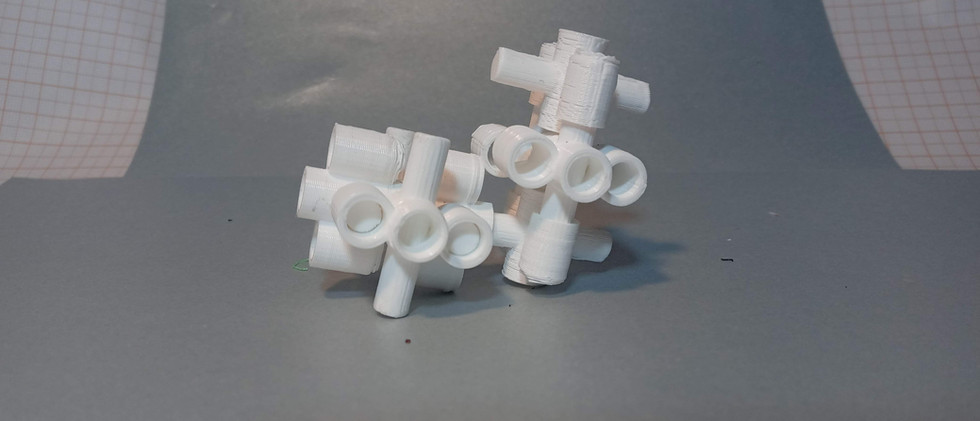Oito Módulos ModoriTuk, sistema de módulos construtivos interconectáveis