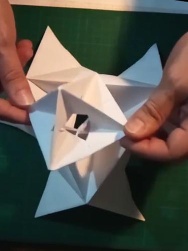 Tutorial Módulo para Octaedro de Origami