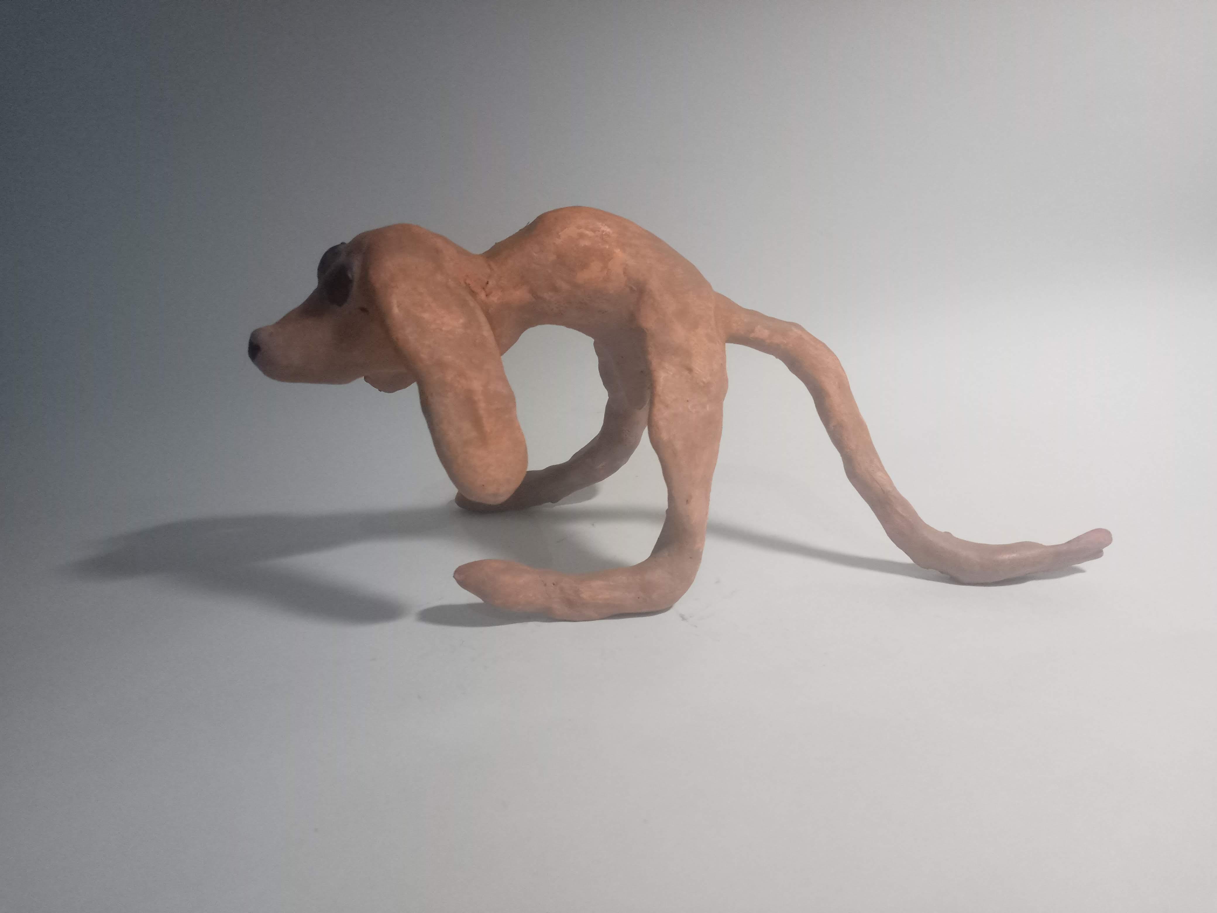 Toyart de Cachorro de Duas Pernas