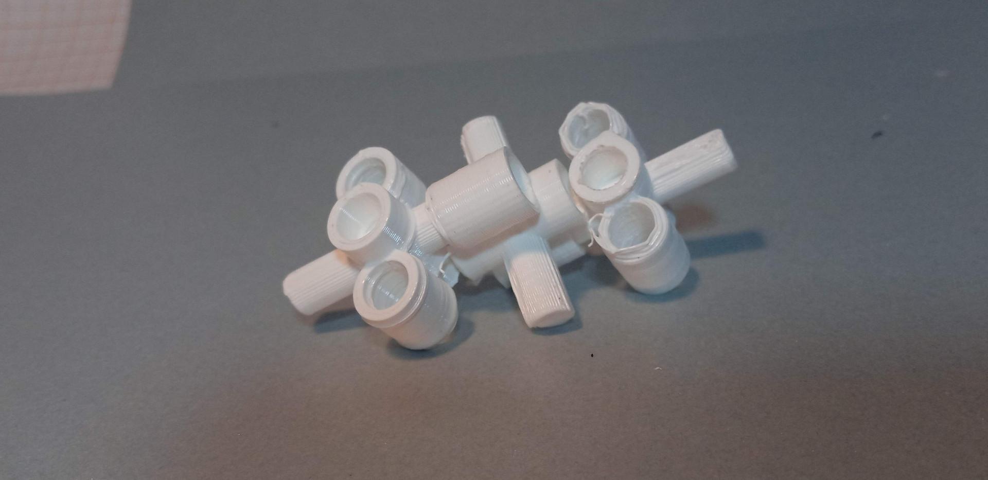 Três Módulos ModoriTuk, sistema de módulos construtivos interconectáveis