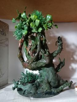 Mini escultura da árvore