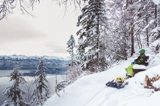 Endlich Schnee! Kinderfotos am Herzogstand