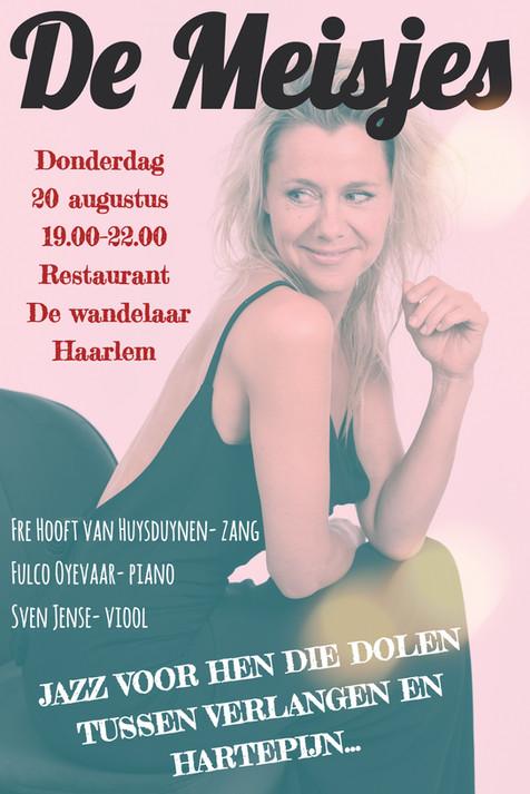 Kom met ons het hart bezingen tijdens de Haarlemse jazz-driedaagse!