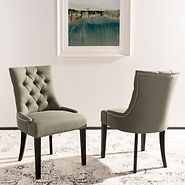 Abby+Tufted+Linen+Upholstered+Side+Chair