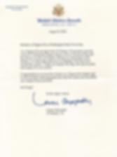 Letter from Senator Lamar Alexander US f