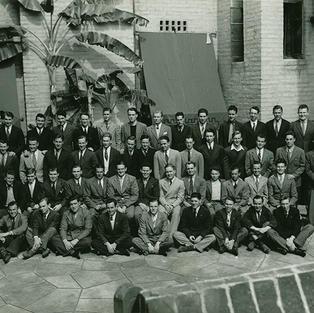 1954 house shot at Alpha Upsilon
