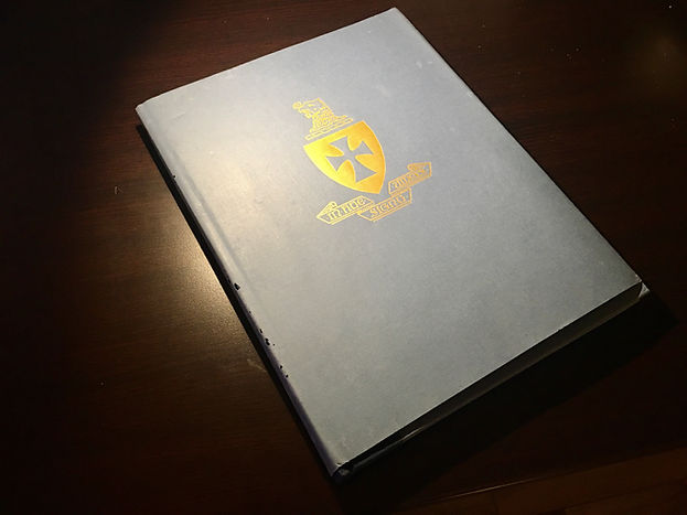 Alpha Upsilon centennial book cover.JPG