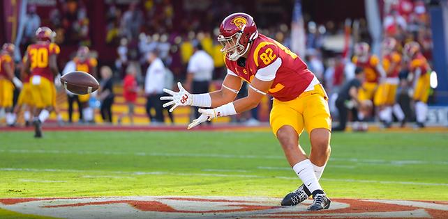 Jude Wolfe photo John McGillen:USC Athle
