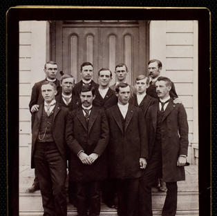 Some of our chapter's founders circa 1890